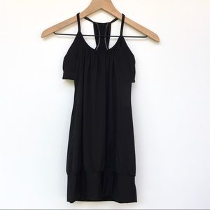 Lululemon Black No Limits Tank Top Size 4